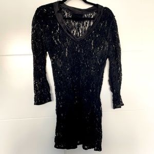 Dolce and Gabbana Lace Long Sleeve